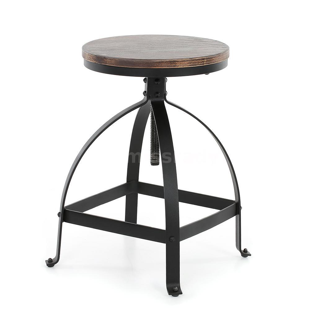 2x Vintage Barhocker Barstuhl Industrie Bistrotisch Stuhl